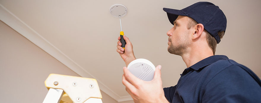 monitored smoke alarm systems