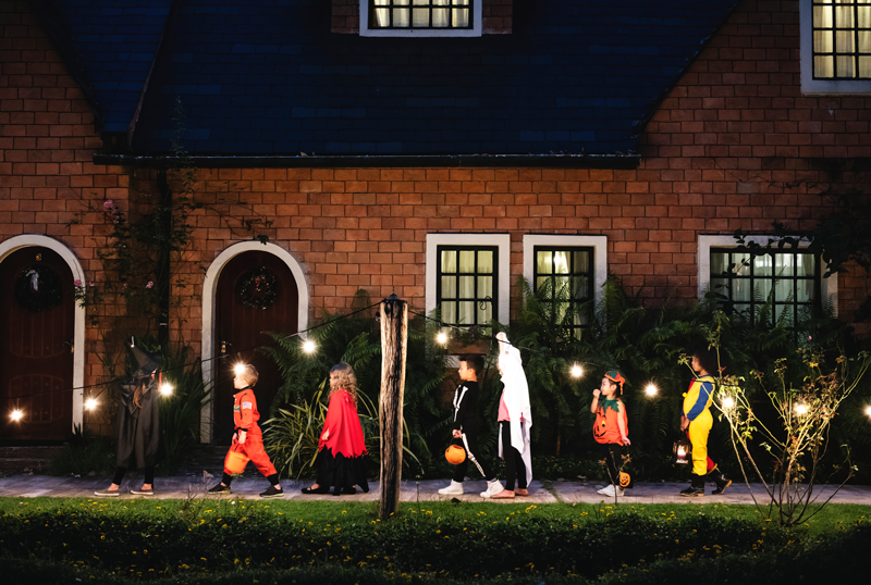 Learn How Smart Home Security Can Make You Your Family's Halloween Superhero